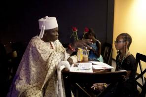 Nigerian king speaks with Flint leaders about community development, social issues